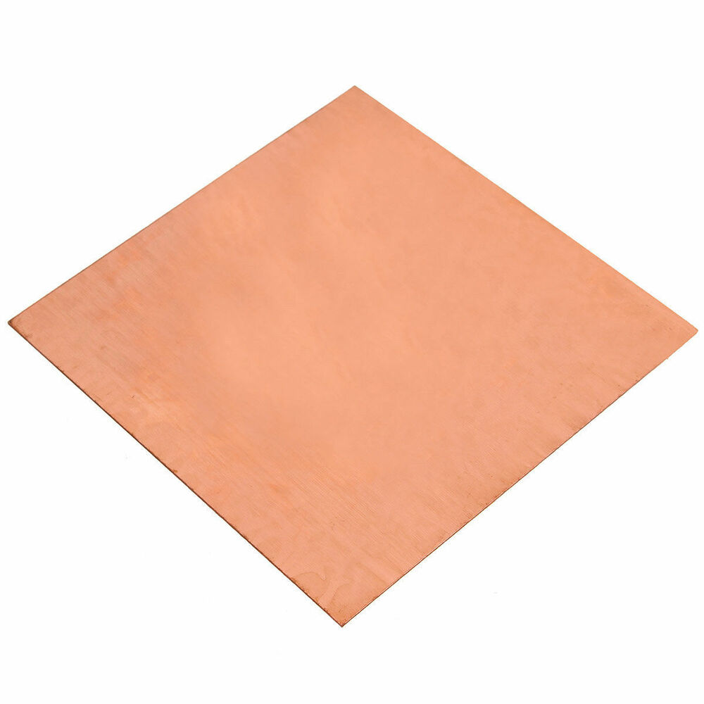 1pc 99 9 Pure Copper Cu Metal Sheet Foil 0 3 X 100 X 100