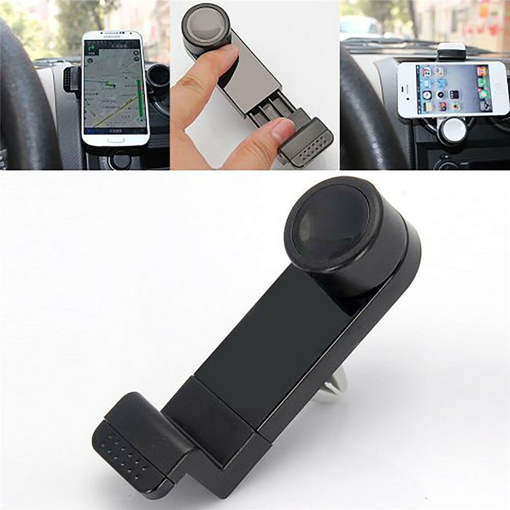 Universal car vent clip mount holder for iphone 6 plus 5s samsung note 3 4 s4 s5 ebay