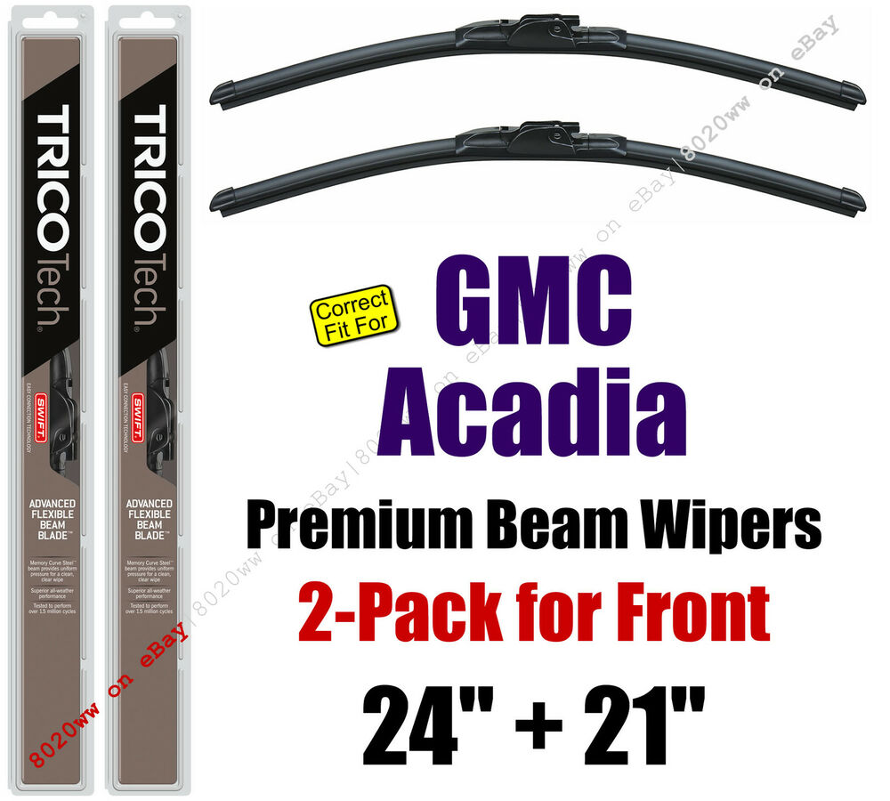 Goodyear Windshield Wipers >> Wipers 2-Pack Premium Beam Wiper Blades - fit 2007-2016 ...