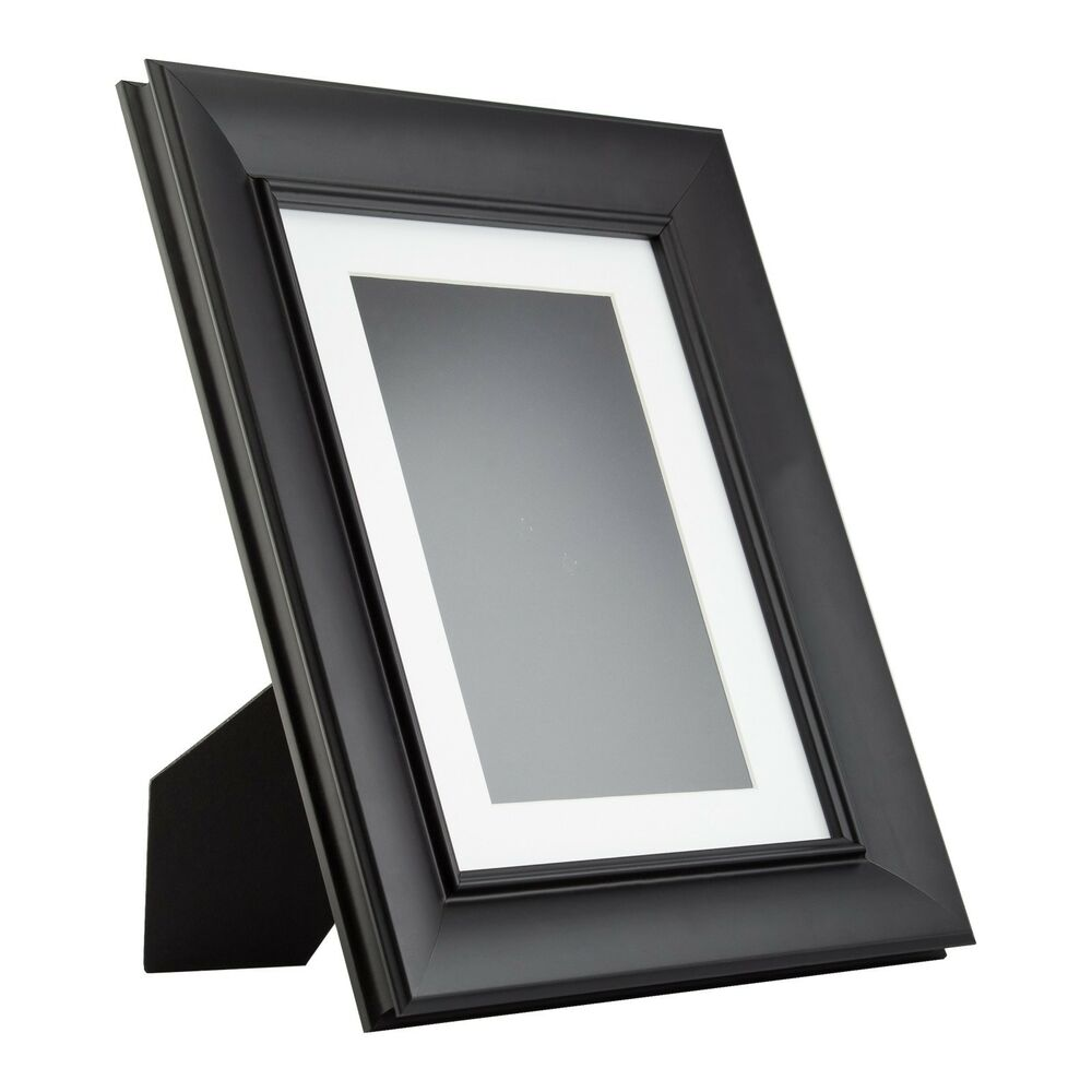Verandah table top vintage black standing picture for How to display picture frames on a table