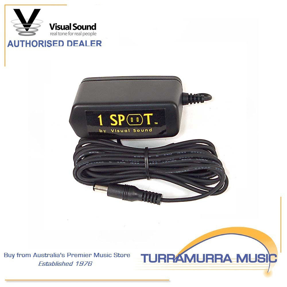 visual sound 1 spot 9v guitar pedal power supply 9 volt ebay. Black Bedroom Furniture Sets. Home Design Ideas