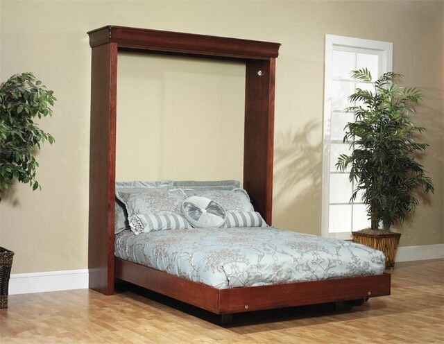 Build your own Queen Sized Murphy Bed (DIY Plan) Fun to build! Save ...