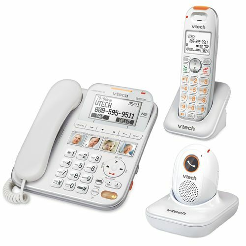 VTech SN6197 DECT 6.0 Corded / Cordless Phones With