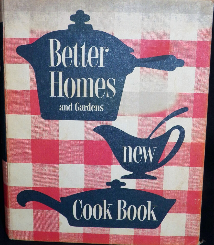 1st Edition Better Homes And Gardens New Cook Book 1953
