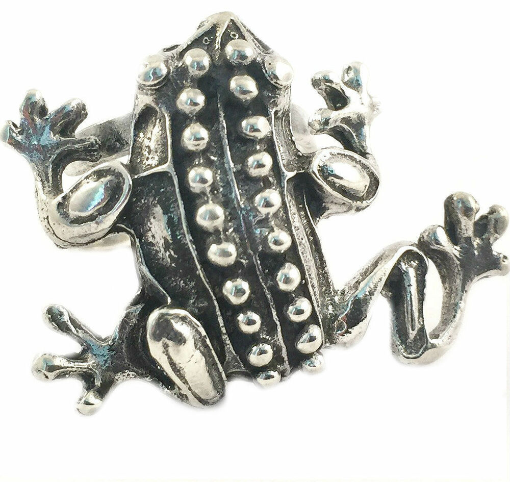 taxco mexican sterling silver frog ring mexico ebay
