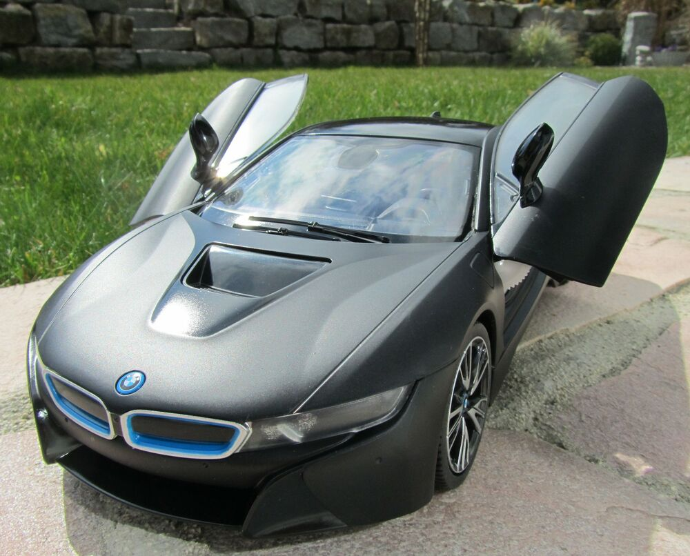 rc bmw i8 mit fl gelt ren schwarz 27mhz 34cm top qualit t 404570 ebay. Black Bedroom Furniture Sets. Home Design Ideas