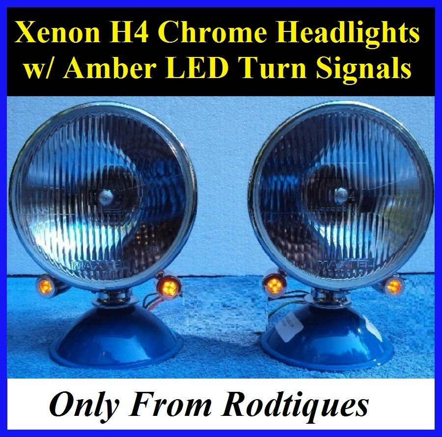 Dune Buggy Lights : Xenon headlights w led turn signals dune buggy vw bug