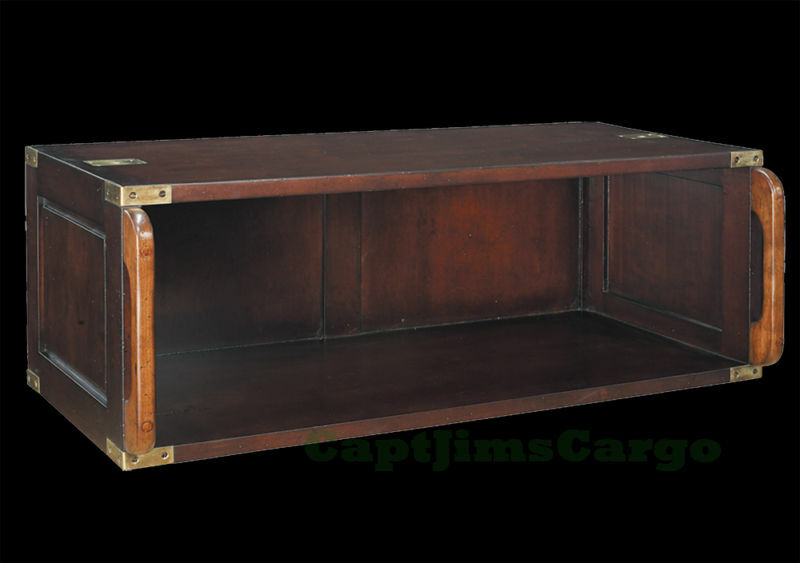 Campaign Bookcase Modular Stacking Unit Open Small Wooden Furniture New Ebay