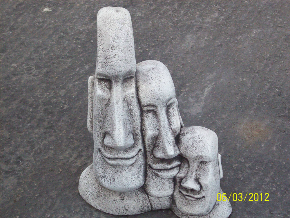 how to make mould garden statue