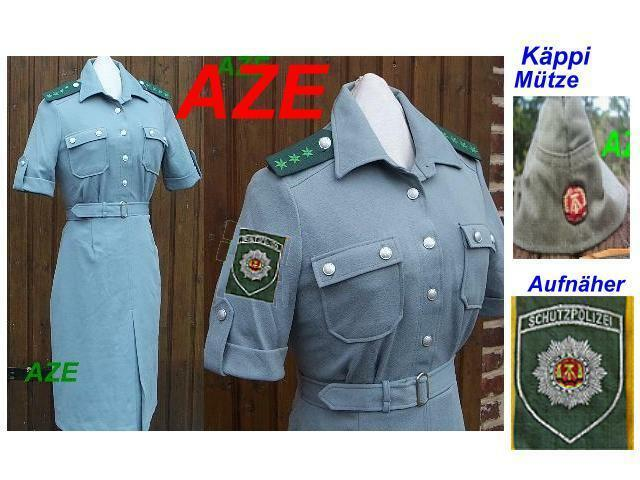 original ddr nva damen armee frauen volks polizei uniform kleid politesse stasi ebay. Black Bedroom Furniture Sets. Home Design Ideas