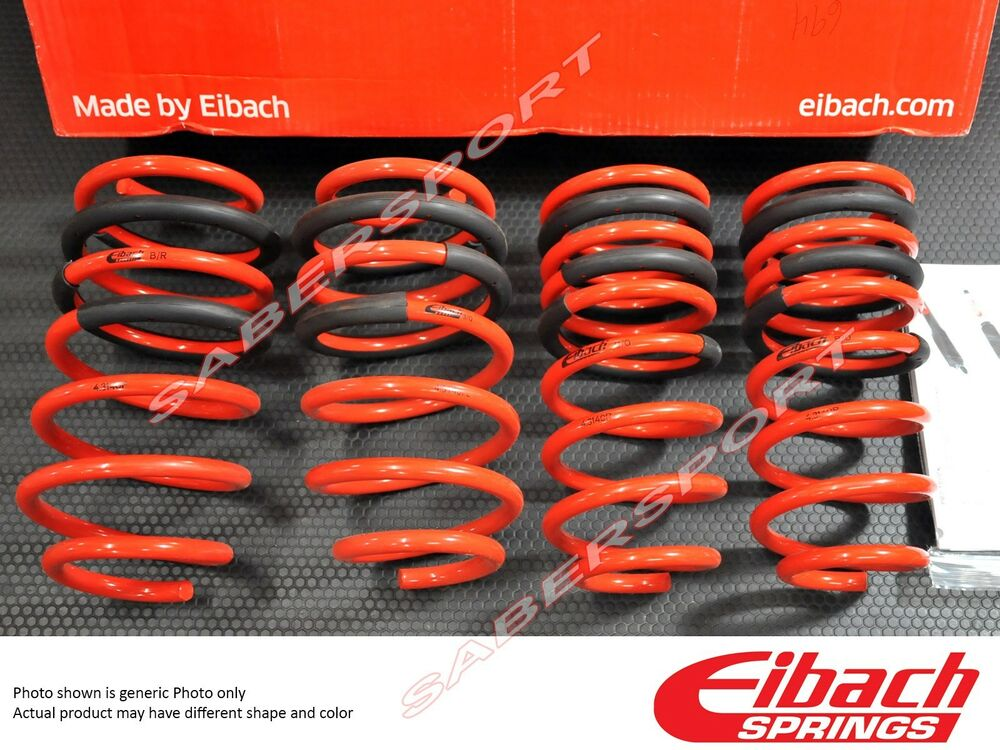 eibach sportline lowering springs kit for 2013 2015 dodge. Black Bedroom Furniture Sets. Home Design Ideas
