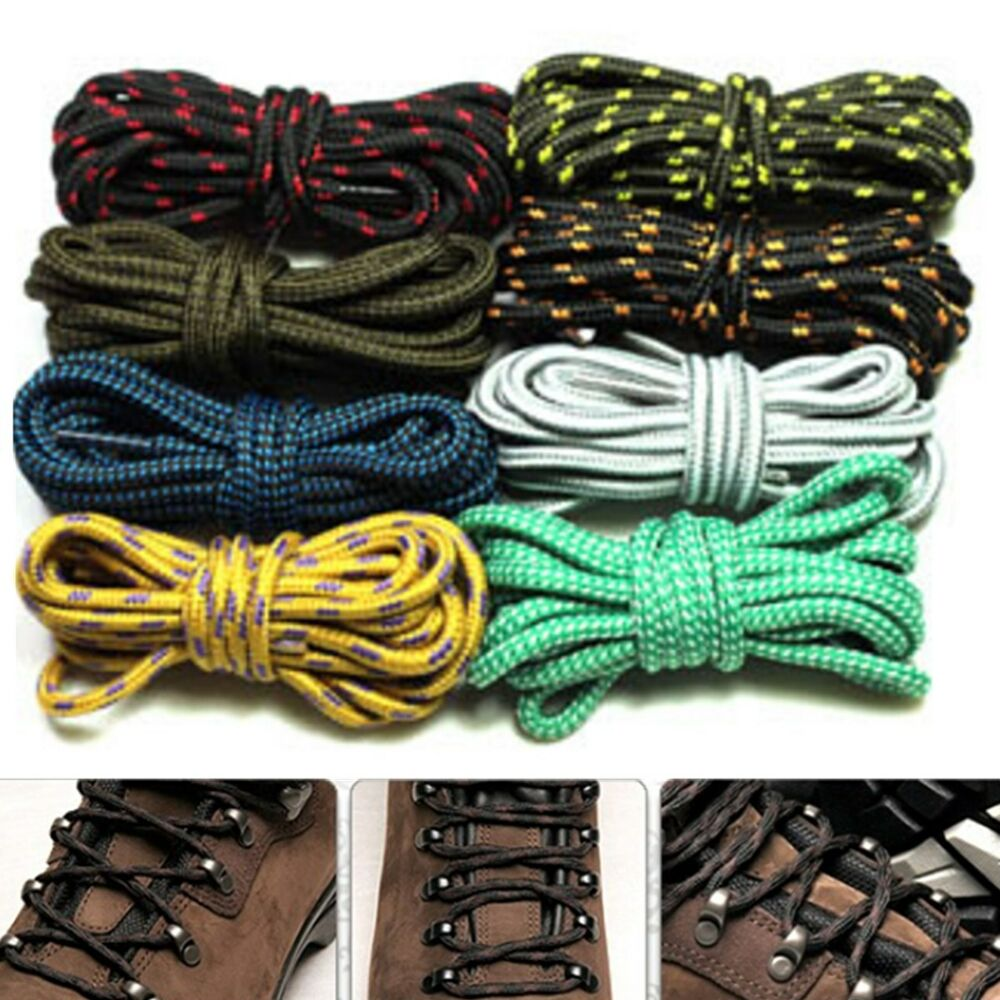 Round Metal Shoe Laces