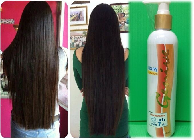 Genive Long Hair Fast Growth shampoo help your hair to ...