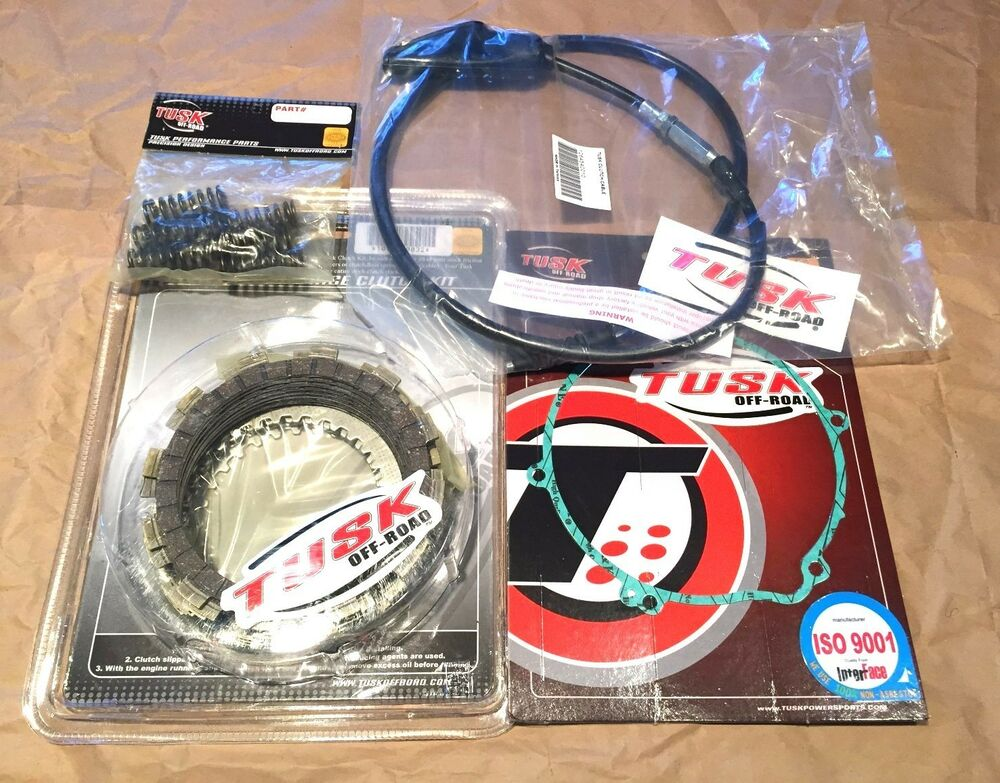 yamaha yz125 2002 2003 tusk clutch springs cover gasket cable kit ebay. Black Bedroom Furniture Sets. Home Design Ideas