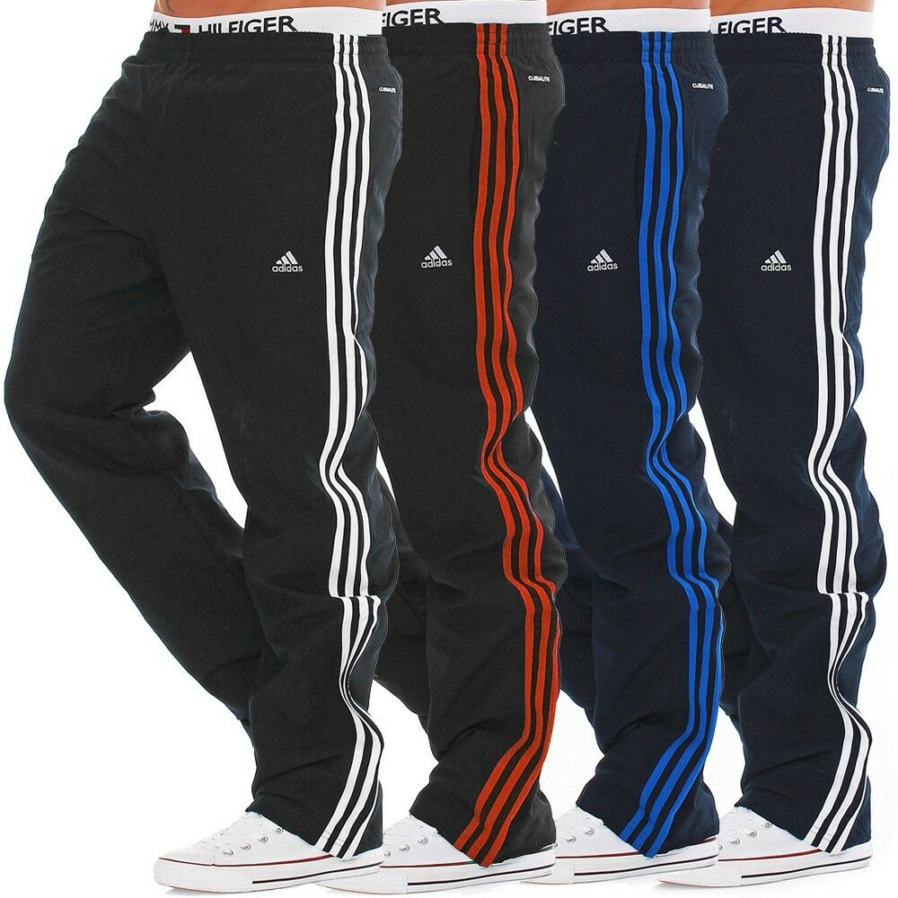 mens new adidas woven tracksuit jogging bottoms joggers. Black Bedroom Furniture Sets. Home Design Ideas