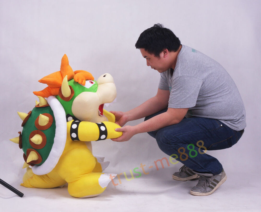 Toys For Big : Super mario bros bowser soft plush doll toy inch big