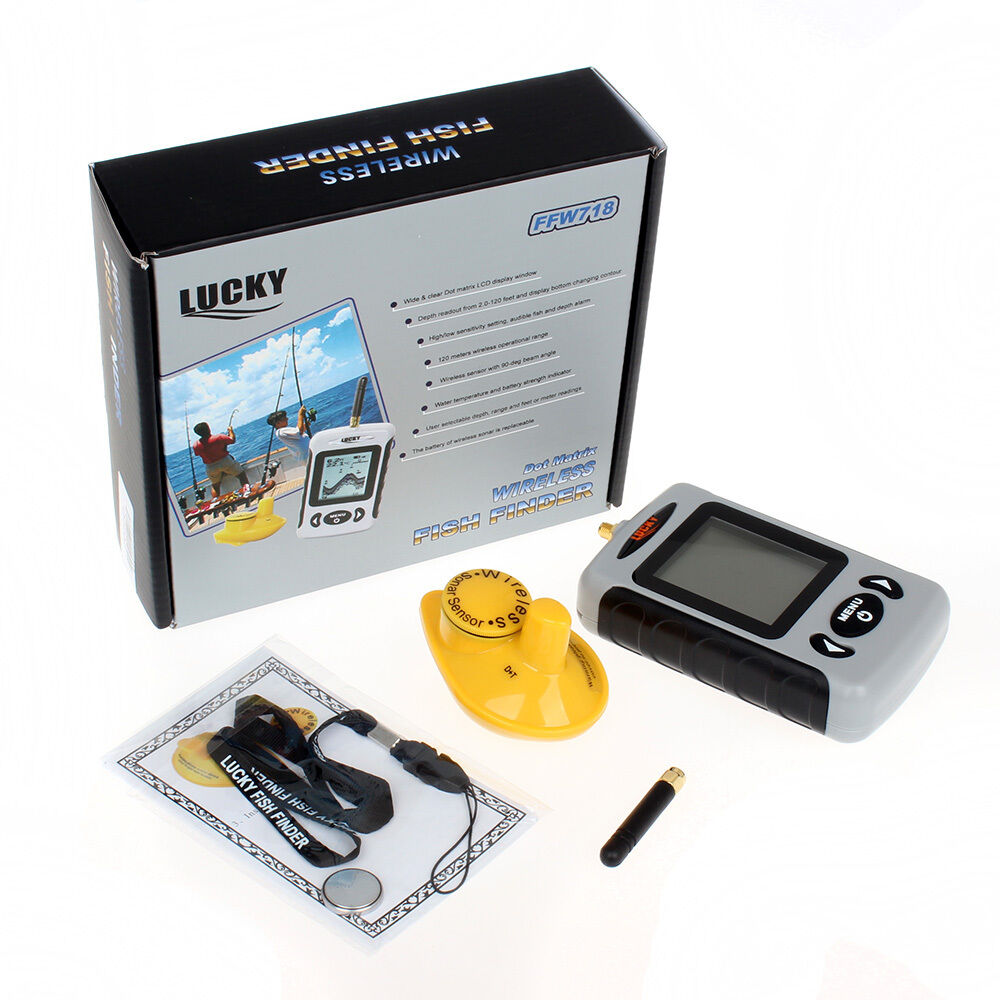 Wireless fish finder sonar aerial river lake sea for Ebay fish finders