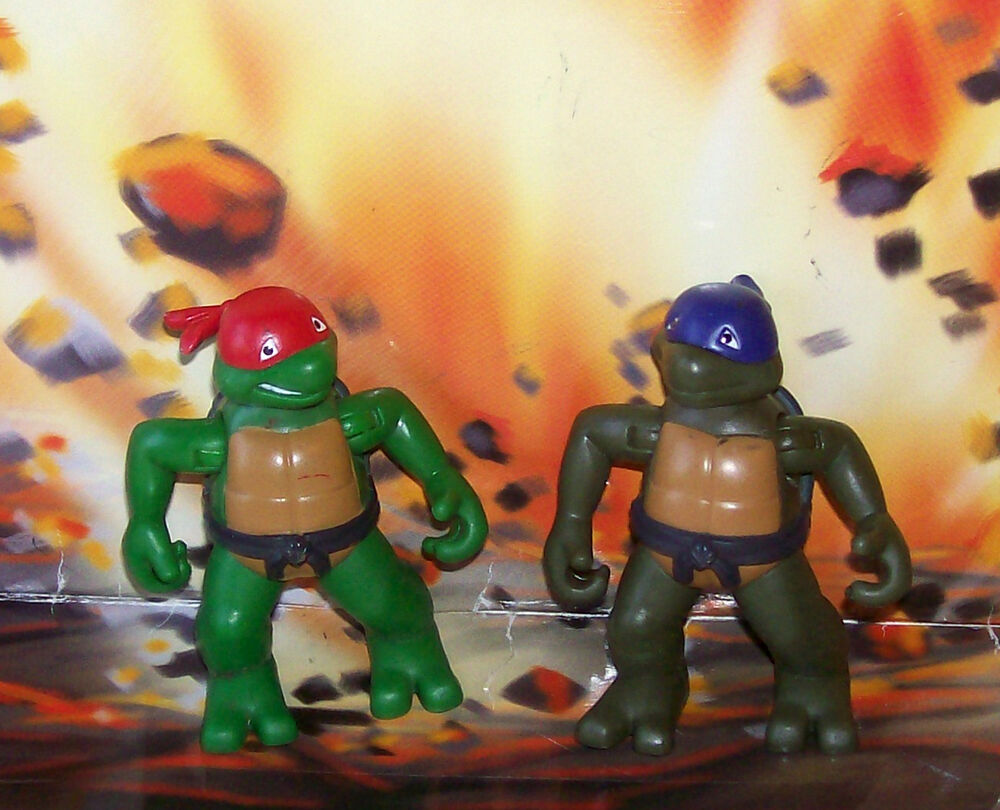 Teenage Mutant Ninja Turtles 2003 Toys : Teenage mutant ninja turtles toddlers tots donatello