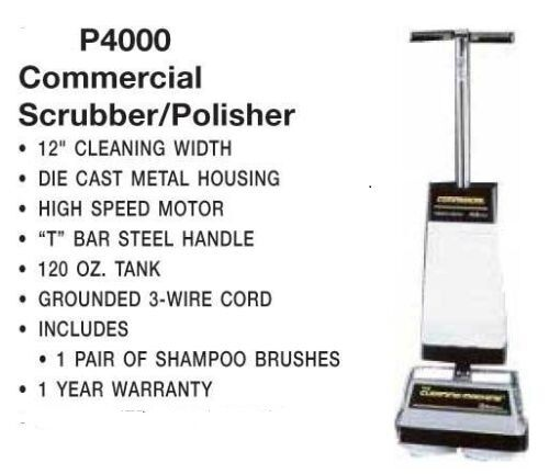 Commercial Floor Tile Grout Scrubber Buffer Cleaner