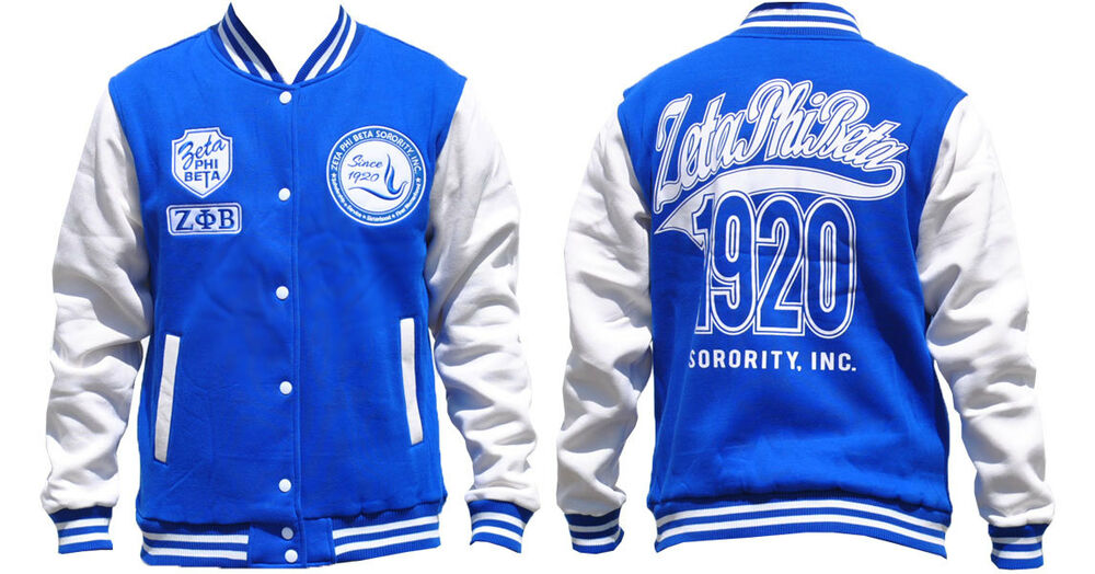 Zeta Phi Beta Letterman Jacket 32
