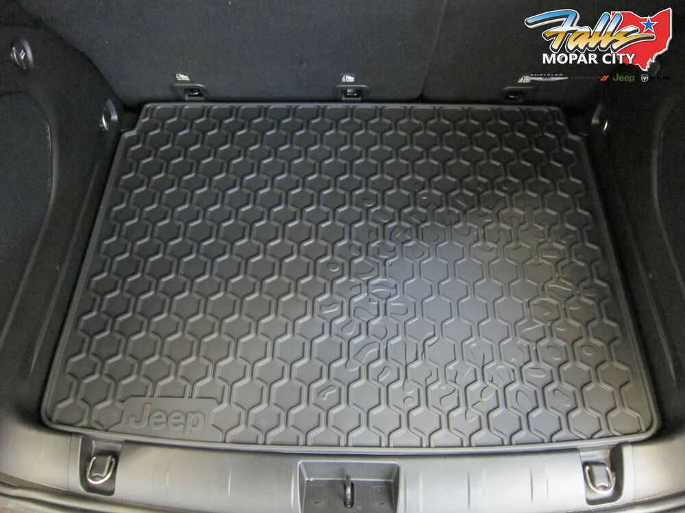 Black Jeep Renegade >> 2015-2016 Jeep Renegade Rear Rubber Cargo Trunk Tray Liner ...