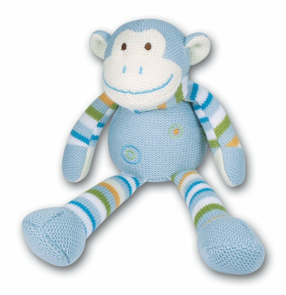 New Soft Toys : New ark toys premier collection knitted baby soft toy