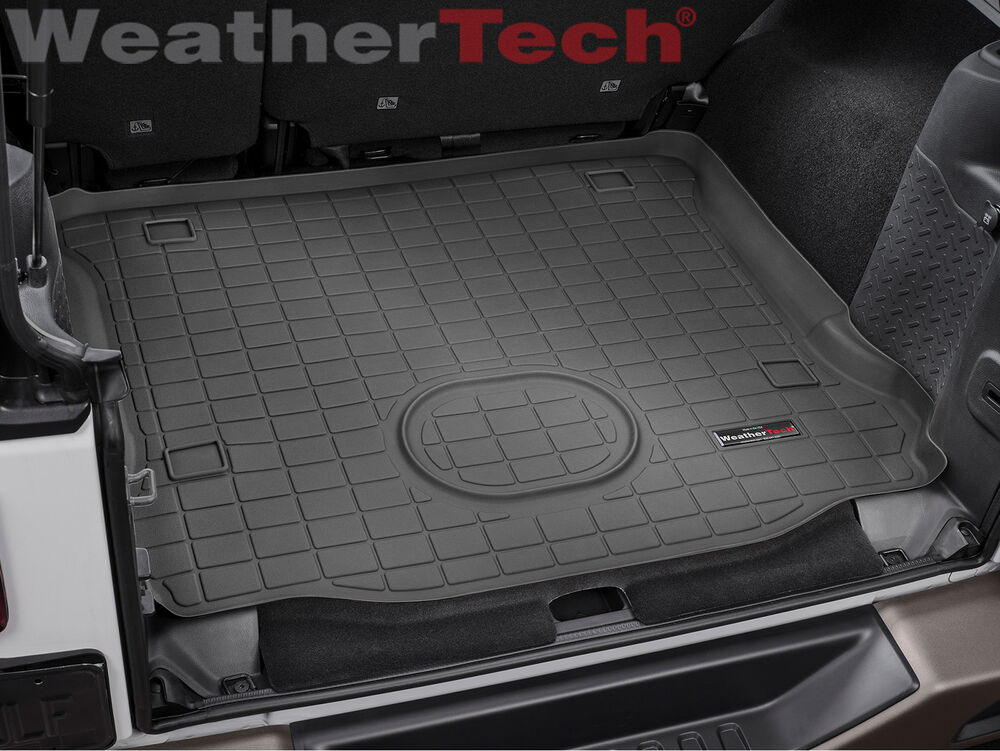 WeatherTech Cargo Liner for Jeep Wrangler Unlimited - 2015 ...