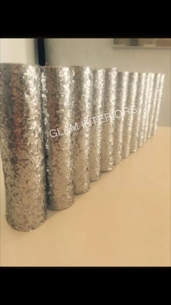 Chunky 12 x glitter wall border arts crafts card wallpaper for Arts and crafts glitter