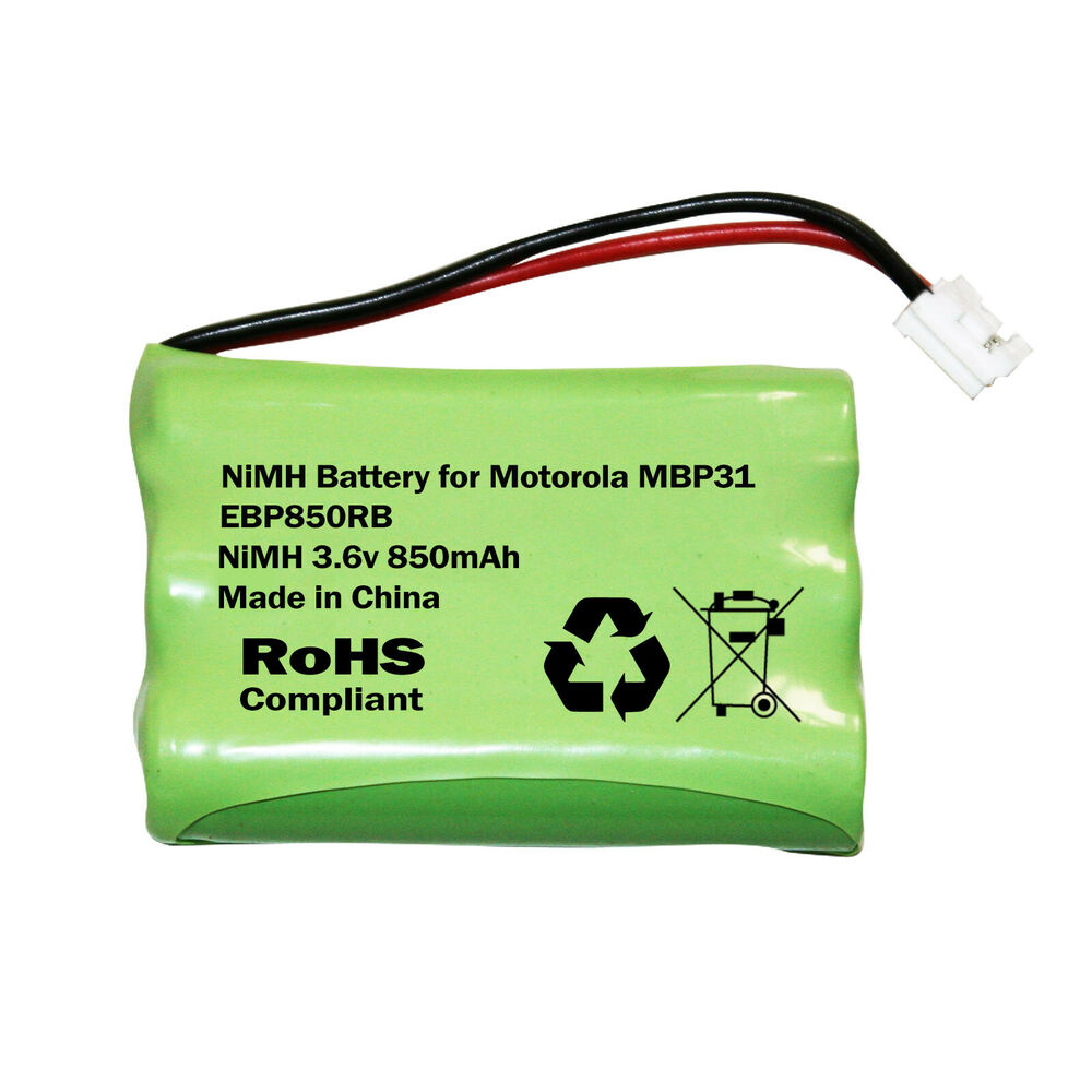 motorola mbp31 baby monitor rechargeable battery nimh ni mh 850mah aaa. Black Bedroom Furniture Sets. Home Design Ideas