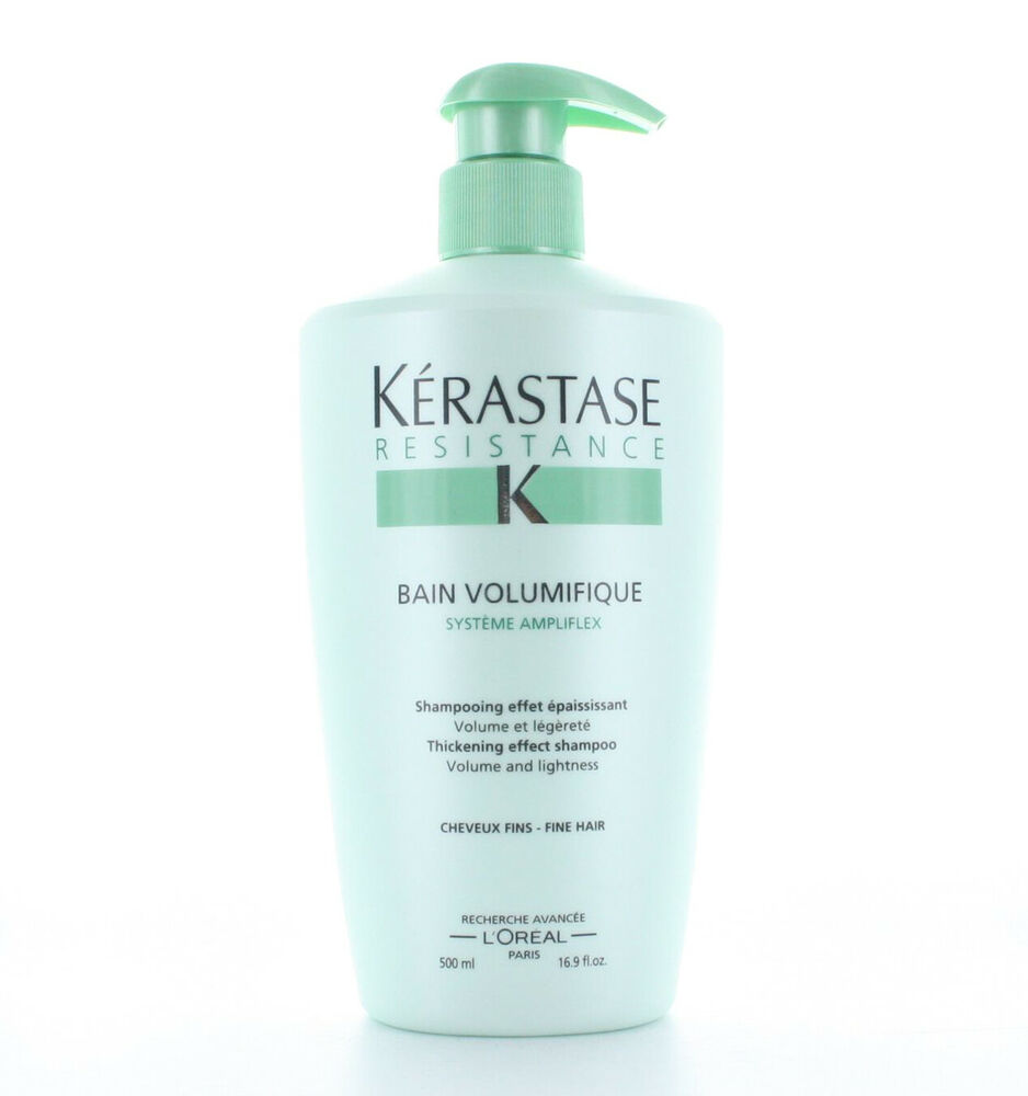 Kerastase resistance bain volumifique shampoo for Kerastase bain miroir conditioner
