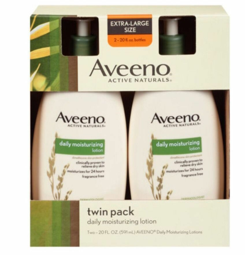 Aveeno Daily Moisturizing Lotion 20oz 2-packs Free Shipping And Fast  | eBay