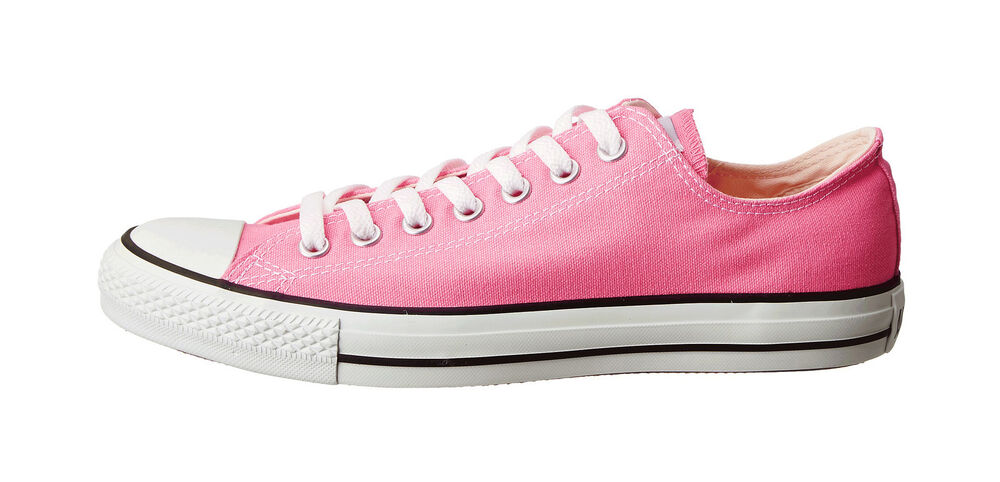 CONVERSE Women All Star Shoes Low Top Fashion Sneakers Canvas Pink Flat | EBay