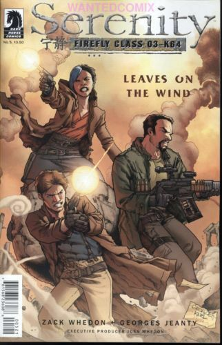Serenity 5 Leaves On The Wind Zack Whedon Comic Book New May 2014