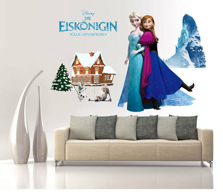 disney for frozen anna elsa bedroom stickers kids room 15172 | s l1000