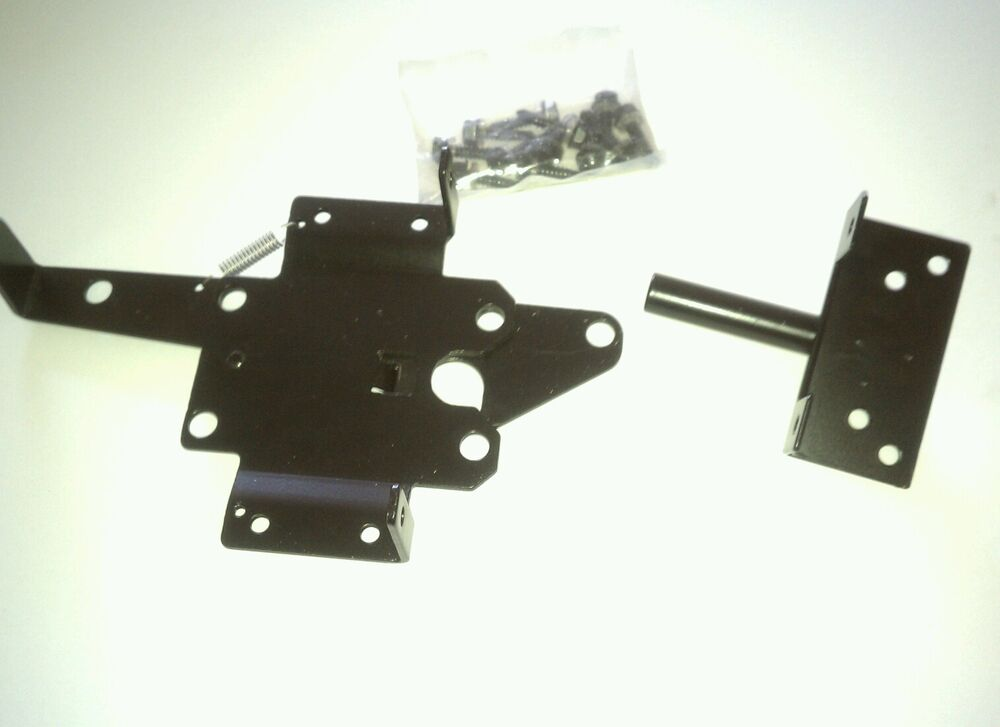 Vinyl Fence Single Gate Kit Self Closing Latch Amp Self
