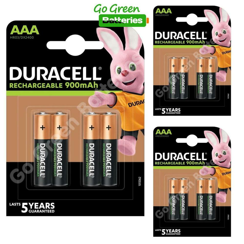 12 x duracell aaa 850 mah rechargeable ultra batteries nimh accu lr03 hr03 phone 5000394203822. Black Bedroom Furniture Sets. Home Design Ideas