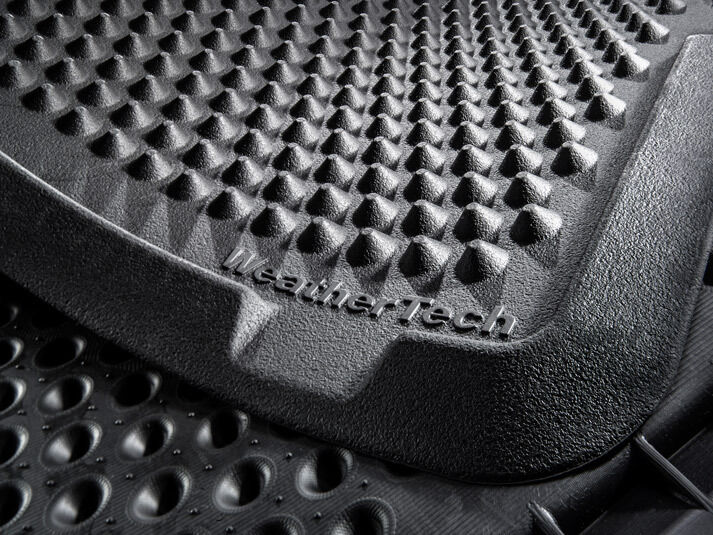 weathertech outdoormat heavy duty out door rubber rain snow mud mat ebay. Black Bedroom Furniture Sets. Home Design Ideas