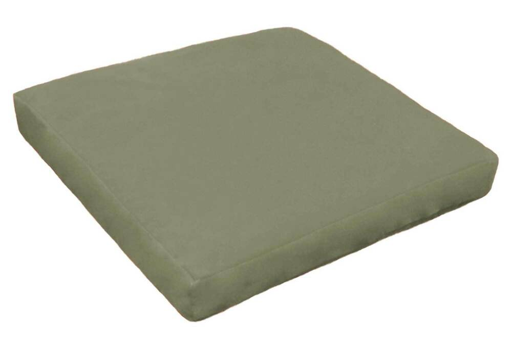 U17 3 Silver Gray Flocked Velvet 3d Box Sofa Seat Cushion Cover Online Sale Ebay