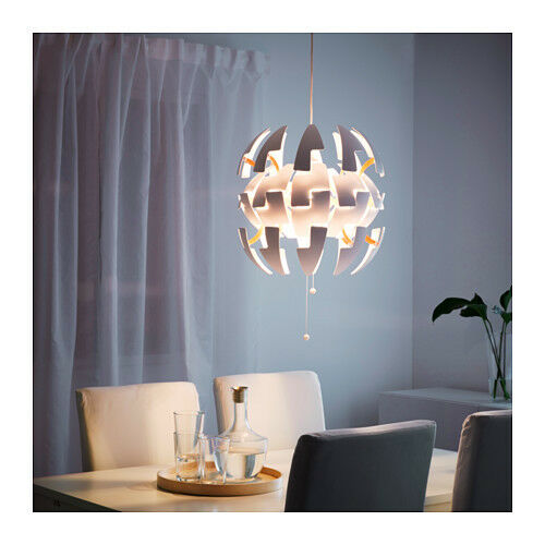 Ikea Ps 2014 Pendant Lamp Like The Death Star White Silver: NEW IKEA PENDANT LAMP PS 2014 LIKE THE DEATH STAR,FREE