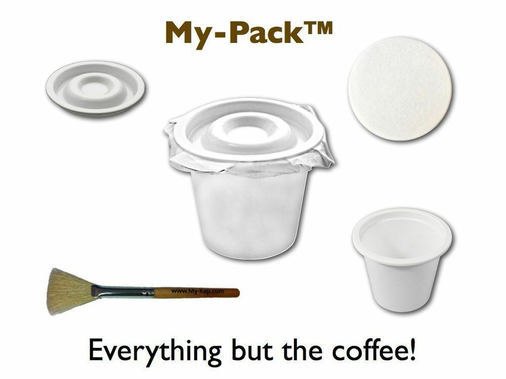 My Pack Lid Fillable Cups Lids And Filters For Keurig