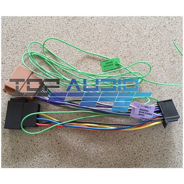 pioneer iso wiring harness avh x8650bt avh x5750bt avh. Black Bedroom Furniture Sets. Home Design Ideas