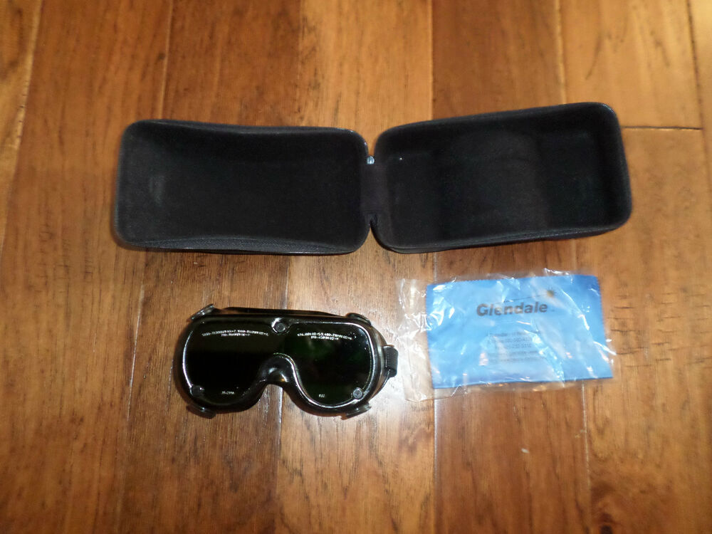 Welding goggles gpt laser diode green broadband lens with