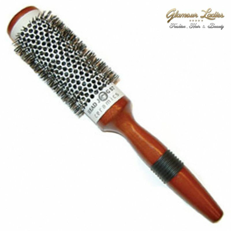 Head Jog 58 Hair Brush Ceramic Radial Professional Quality