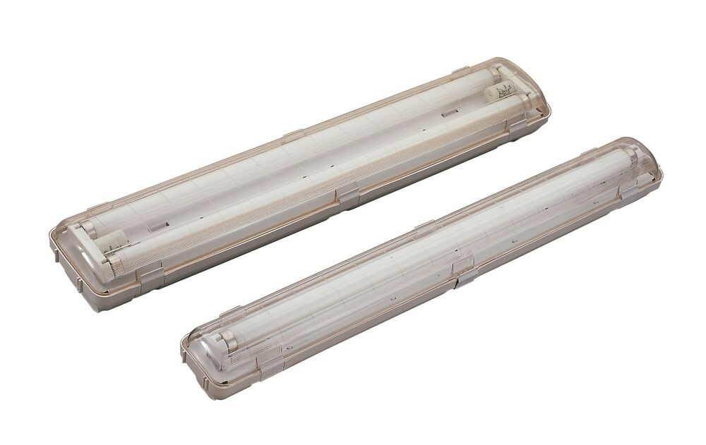 Led T8 Fluorescent Weatherproof Light Fixture Fitting 120cm 1 2m 4ft Batten Only Ebay