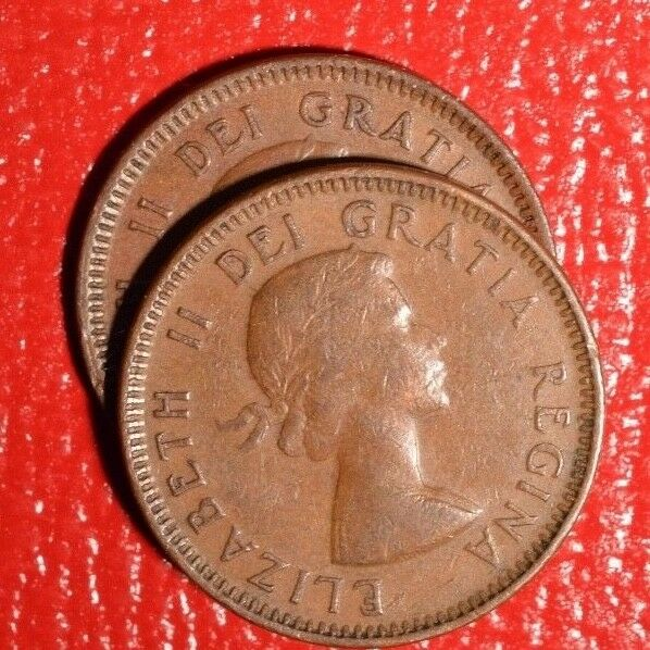 1953 sf 1953 nsf two varieties canada pennies nice for Sf contact nackenkissen small