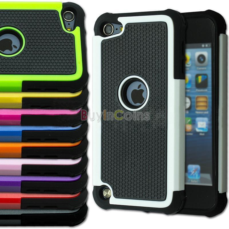 triple shockproof protective case cover for ipod touch 4th 5th generation gen us ebay. Black Bedroom Furniture Sets. Home Design Ideas