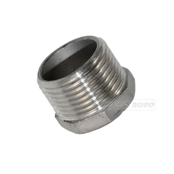 Quot male female thread reducer bushing pipe fitting