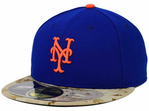 186784d648163 Details about Official MLB 2015 New York Mets Memorial Day Stars Stripes  New Era 59FIFTY Hat