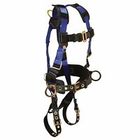 NS Foreman Back & Side D-Rings Tongue Buckle Leg Straps Fall Protection Harness