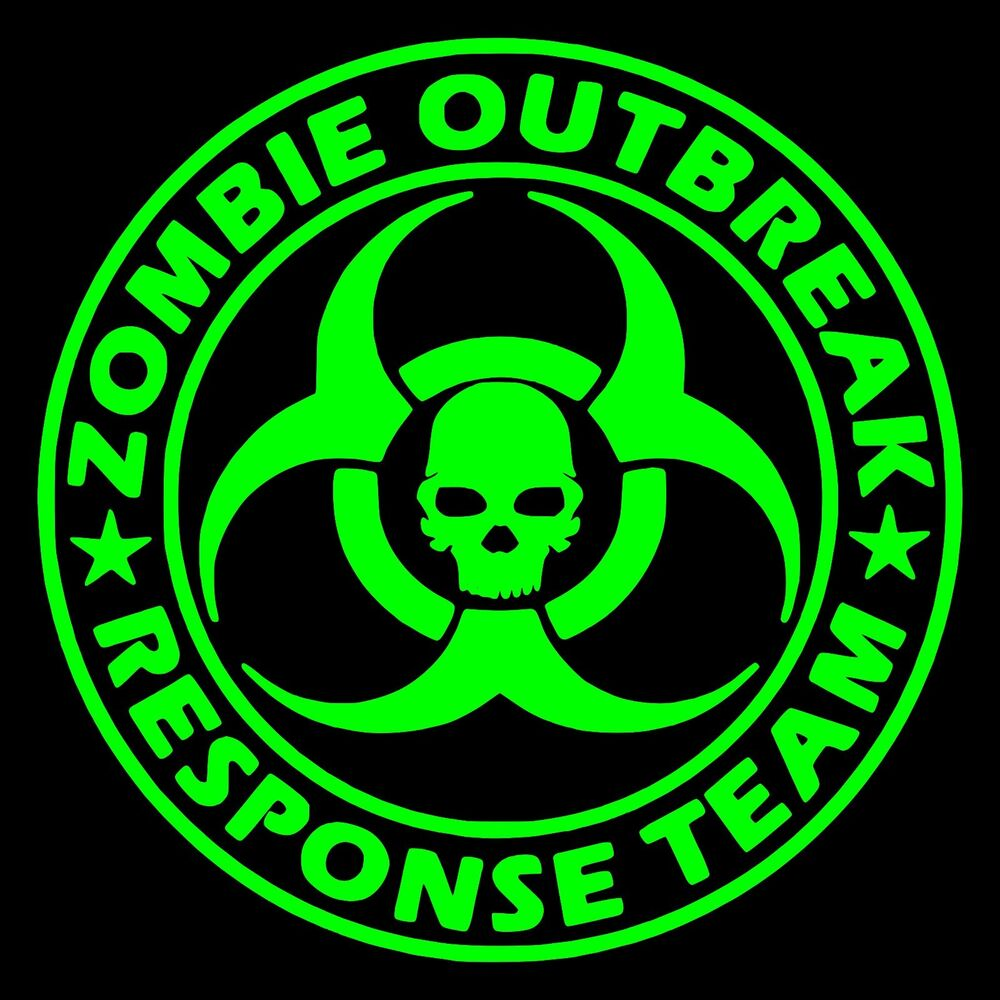 Zombie Outbreak Response Team Vinyl Decal Sticker | eBay